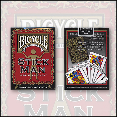 Bicycle StickMan Cards by USPCC - Trick