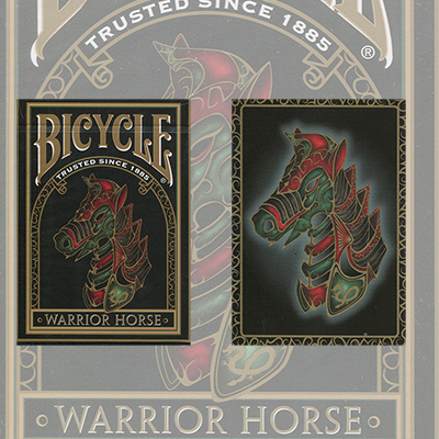 Bicycle Warrior Horse Deck by USPCC - Trick