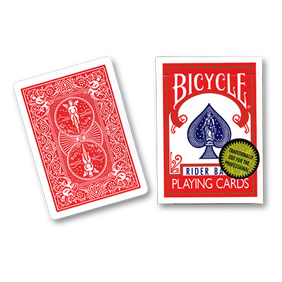 Bicycle Playing Cards (Gold Standard) - RED BACK  by Richard Turner - Trick