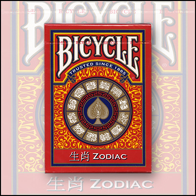 Cards Bicycle Zodiac by USPCC - Trick