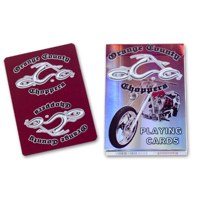 Orange County Choppers  Playing Cards (Red) by US Playing Card Co. - Trick