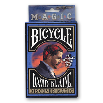 Bicycle David Blaine Discovery (Stripper) Deck by USPCC - Trick
