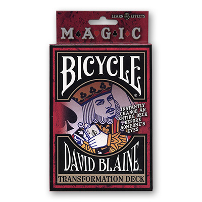 Bicycle David Blaine Transformation (Svengali)Deck by USPCC - Trick