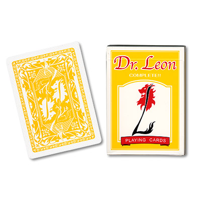 Cards Dr. Leon Deck (Yellow) by Hiro Sakai - Trick