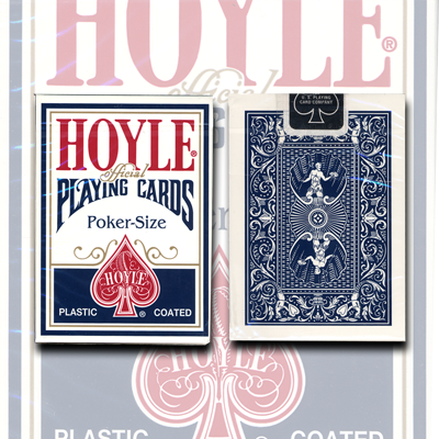 Cards Hoyle Poker deck (Azul) USPCC
