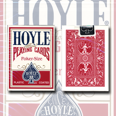 Cards Hoyle Poker deck (Rojo) USPCC