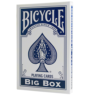 Cartas Bycicle Jumbo (Azul)
