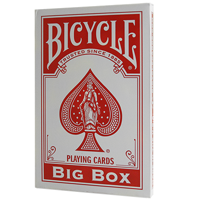Cartas Bycicle Jumbo (Rojo)