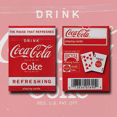 Mini Coke Playing Cards by US Playing Card Co. - Trick