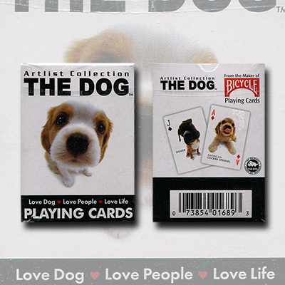 Mini Dog Playing Cards by US Playing Card Co. - Trick