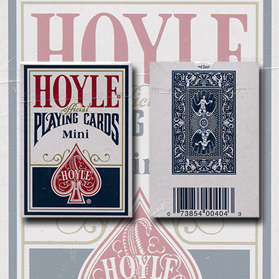 Mini Hoyle Playing Cards (Blue) by US Playing Card Co. - Trick