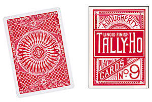 Cards Tally Ho Circle Back (Red)