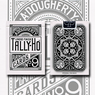 Tally Ho Reverse Fan back (Blanco) Limited Ed - Aloy Studios / USPCC