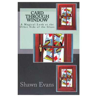 Card Through Window by Shawn Evans - Book