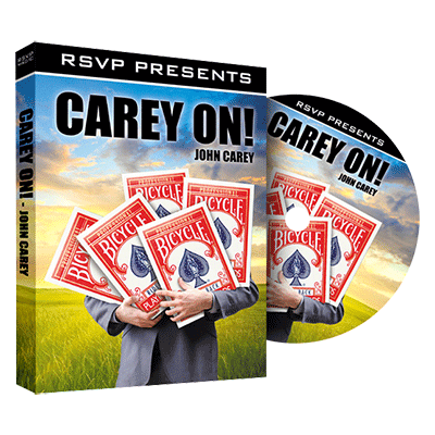 Carey On by John Carey and RSVP Magic - DVD