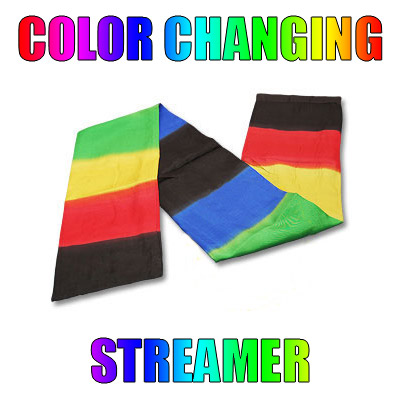 Color Changing Streamer by Vincenzo DiFatta - Tricks