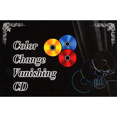 Color Changing / Vanishing CD - JL Magic