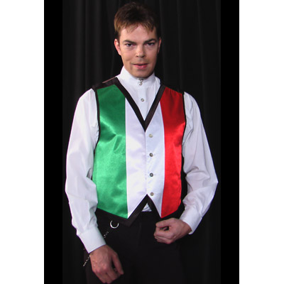 Color Changing Vest (Italian Flag) - Medium by Lee Alex - Trick