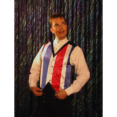Color Changing Vest (Stripes) - Medium by Lee Alex - Trick