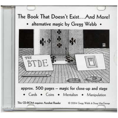 Book That Doesn't Exist (CD) by Gregg Webb & Doug MacGeorge - Book