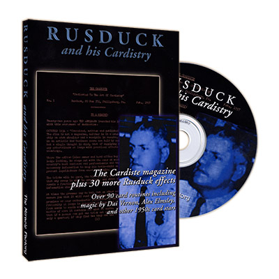 The Cardiste CD - Rusduck