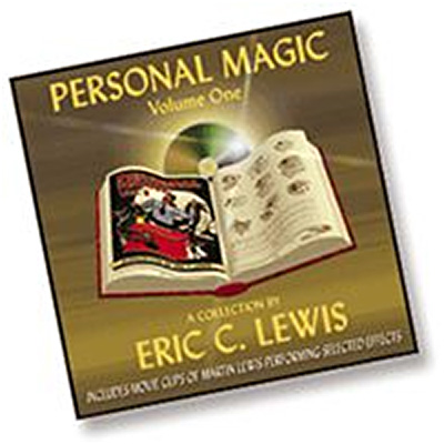 Personal Magic by Eric Lewis - CD