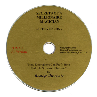 CD ( Lite Version ) Secrets of a Millionare