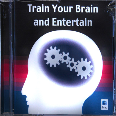 Train Your Brain And Entertain CD ROM (MAC) by Scott Cram - Trick