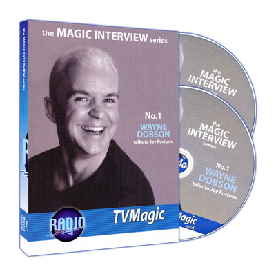 Magic Interview Series No.1: Wayne Dobson talks to Jay Fortune (2 CD Set)