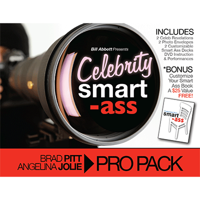 Celebrity Smart Ass Bundle (Brad Pitt & Angelina Jolie) by Bill Abbott