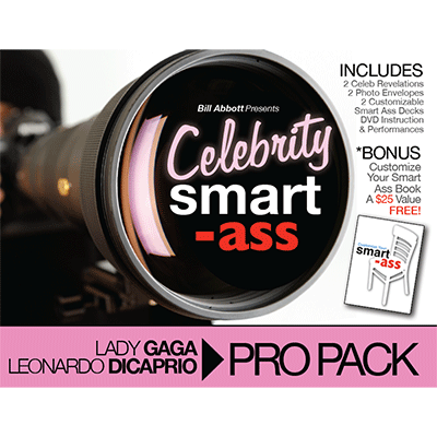 Celebrity Smart Ass Bundle (Lady Gaga & Leonardo DiCaprio)