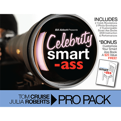 Celebrity Smart Ass Bundle (Tom Cruise and Julia Roberts) by Bill Abbott