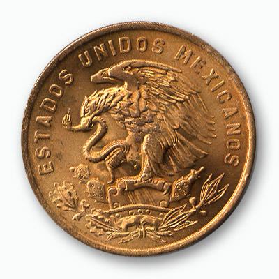 Mexican Centavos Coin - Trick