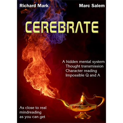 CEREBRATE (with Gimmicks) by Marc Salem & Richard Mark - Book