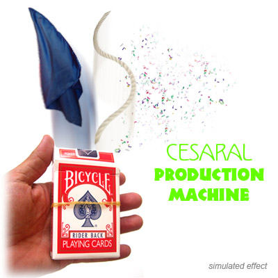 Cesaral Production Machine by Cesar Alonso (Cesaral Magic) - Trick