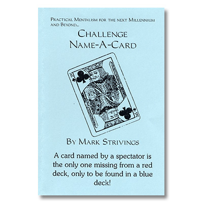 Challenge Name-A-Card by Mark Strivings - Trick