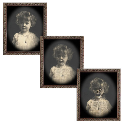 Changing Portrait - Baby Jane (8x10) by Eddie Allen - Trick