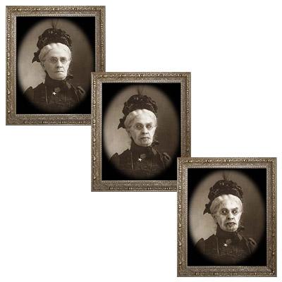 Changing Portrait - Granny Gertrude (5 x 7) by Eddie Allen - Trick