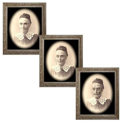 Changing Portrait - Granny Hazel - by Eddie Allen - Trick