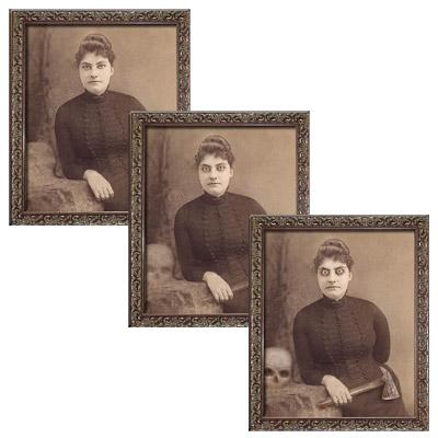 Changing Portrait - Aunt Lizzie by Eddie Allen - Trick
