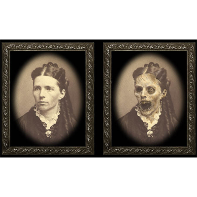 Changing Portrait - Aunt Maggie (8x10) by Eddie Allen - Trick