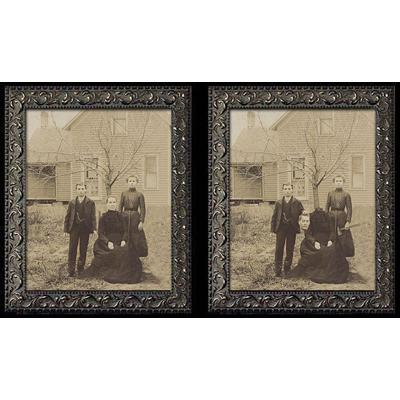 Changing Portrait - Midwestern Matricide (8x10) by Eddie Allen - Trick