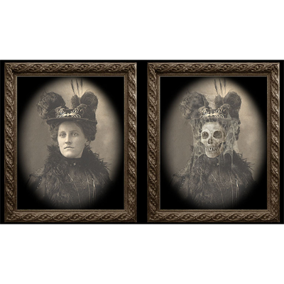 Changing Portrait - Aunt Tilly (8x10) by Eddie Allen - Trick