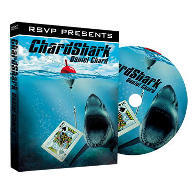 Chardshark by Daniel Chard and RSVP Magic - DVD