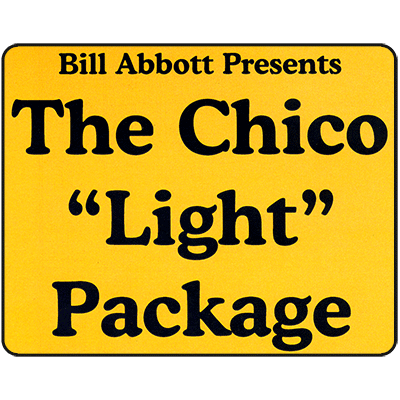 "Chico Routine ""Light"" Package Deluxe Routine, Script & DVDsCD & Poster - Bill Abbott"