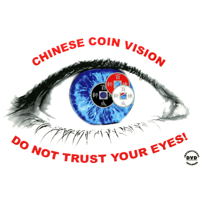 Chinese Coin Vision by Joker Magic - Trick