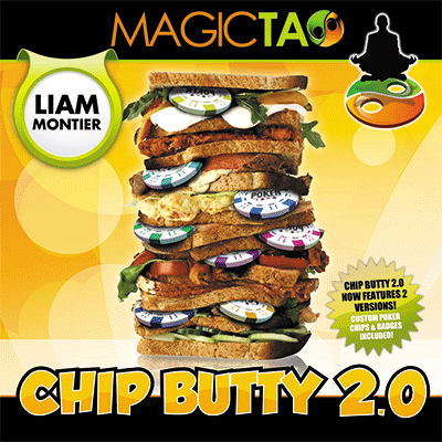 Chip Butty 2.0 (Red) by Liam Montier and MagicTao - Trick