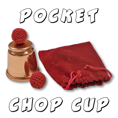 Chop Cup Small(Pocket) - Copper by Morrissey Magic- Trick