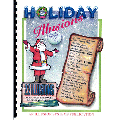 Holiday Illusions by Paul Osborne - Book