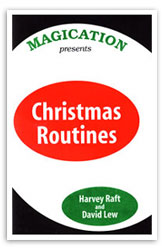 Christmas Routines book Harvey Raft & David Lew